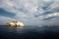 Eolische eilanden stock afbeeldingen