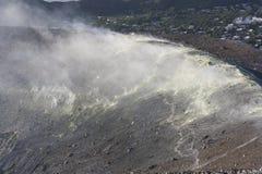 Eolowy wyspa wulkan Zdjęcie Royalty Free