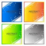 Eometry abstract black vector background vector illustration