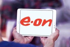 Eon λογότυπο ενεργειακής επιχείρησης Στοκ φωτογραφίες με δικαίωμα ελεύθερης χρήσης