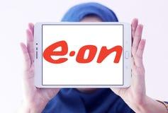 Eon firmy energetyczny logo Zdjęcia Royalty Free