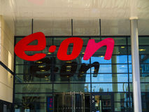Eon headquarters Nottingham. Eon power comapny headquarters West Midlands Royalty Free Stock Image