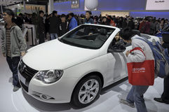 EOS Cabrio de Volkswagen Imagens de Stock