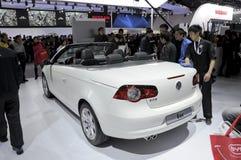 EOS Cabrio di Volkswagen Fotografie Stock