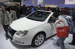 EOS Cabrio di Volkswagen Immagini Stock