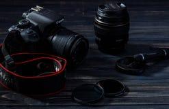 EOS 700D/kamera för rebell T5i DSLR Arkivbilder