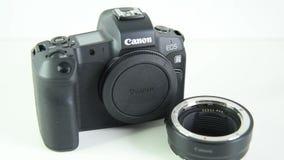 EOS R di Canon della macchina fotografica di Mirrorless stock footage