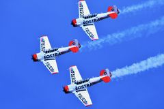 Eostra Stunt Planes Royalty Free Stock Image