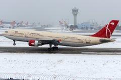 EP-FQK Qeshm Air, Airbus A300-600 Images libres de droits