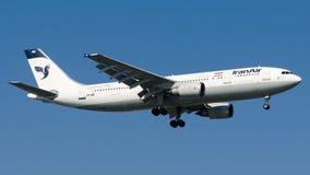 EP-IBD Iran Air, Airbus A300B4-605R royalty free stock photos