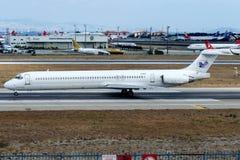 EP-mdf γύροι αέρα του Ιράν, McDonnell Douglas MD-83 Στοκ Φωτογραφία