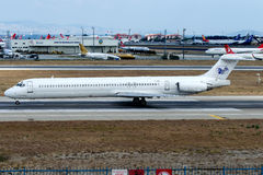 EP-MDF Iran Air Tours, McDonnell Douglas MD-83 Photographie stock