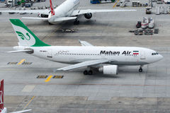 EP-MMJ Mahan空气,空中客车A310-304 免版税图库摄影