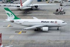 EP-MMJ Mahan Air, Airbus A310-304 Photographie stock libre de droits
