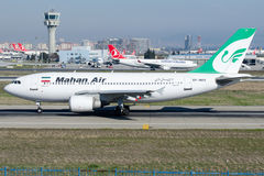 EP-MMN Mahan Air, Luchtbus A310-304 stock fotografie