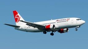 EP-TAF Ata Airlines Iran, Boeing 737-300 Fotos de Stock