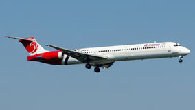 EP-TAN Ata linie lotnicze, McDonnell Douglas MD-83 Fotografia Royalty Free