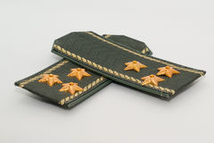 Epaulets Colonel Stock Photo