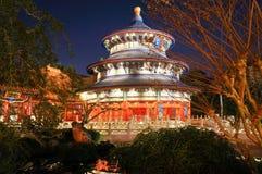 Epcot的中国亭子在华特・迪士尼世界 免版税库存照片