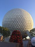 Epcot ball stock photo
