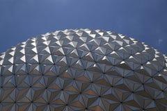 EPCOT Center, Disney World, Florida. Close up of iconic dome at EPCOT Center in Disney World, Kissimmee, Florida Stock Photography