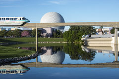 Epcot Center Monorail royalty free stock images