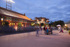 Epcot Center World Showcase - China Stock Photos