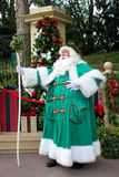 Epcot England; Father Christmas Royalty Free Stock Photo