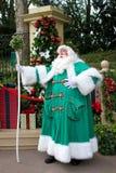 Epcot England; Vater Christmas Lizenzfreies Stockfoto