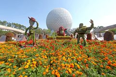 Epcot Flower and Garden Festival Stock Image