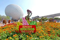 Epcot Flower and Garden Festival Royalty Free Stock Photo