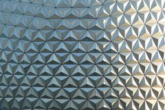 Epcot Globe Closeup Royalty Free Stock Image