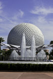 Epcot globe in Orlando Florida Royalty Free Stock Photography