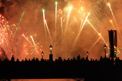 Epcot Illuminations Royalty Free Stock Photo