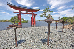 Epcot Japan stock foto