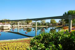 Epcot Monorail Stock Photo