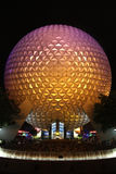 Epcot at night royalty free stock images