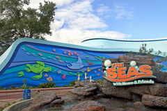 Epcot - The Seas with Nemo and Friends Royalty Free Stock Photos