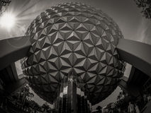 Epcot Space Ship Earth Royalty Free Stock Images
