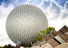 Epcot Theme Park Stock Photo