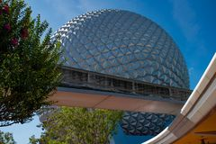 In Epcot at Walt Disney World Resort area 12. Orlando, Florida. May 24, 2019.  in Epcot at Walt Disney World Resort area 12 royalty free stock photo
