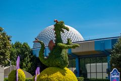 In Epcot at Walt Disney World Resort area 120. Orlando, Florida. May 24, 2019.  in Epcot at Walt Disney World Resort area 120 royalty free stock images
