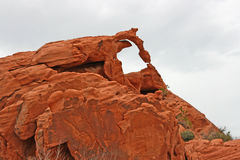 Ephemeral Arch, Nevada. Natural Arch in Valley of fire, Nevada Stock Photography