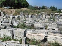 Ephese ancient antique city Stock Photo
