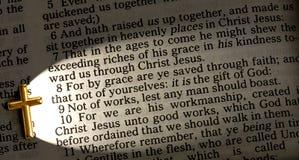 Ephesians 2,8 Arkivbild