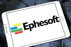 Ephesoft przedsięwzięcia logo Obraz Royalty Free