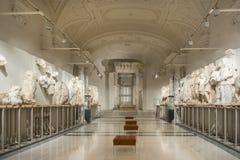 从Ephesos博物馆,维也纳,奥地利的内部细节 图库摄影