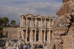 Ephesus图书馆 免版税库存照片