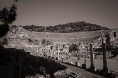 Ephesus圆形露天剧场 库存照片