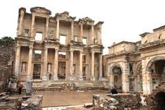 Ephesus破坏土耳其 免版税库存图片